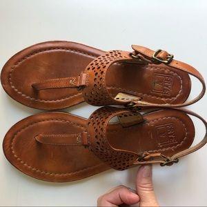 """Frye """"Rachel Perf Sling"""" Sandals"""